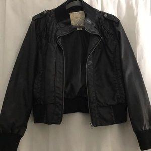 Arden B Faux Leather Jacket